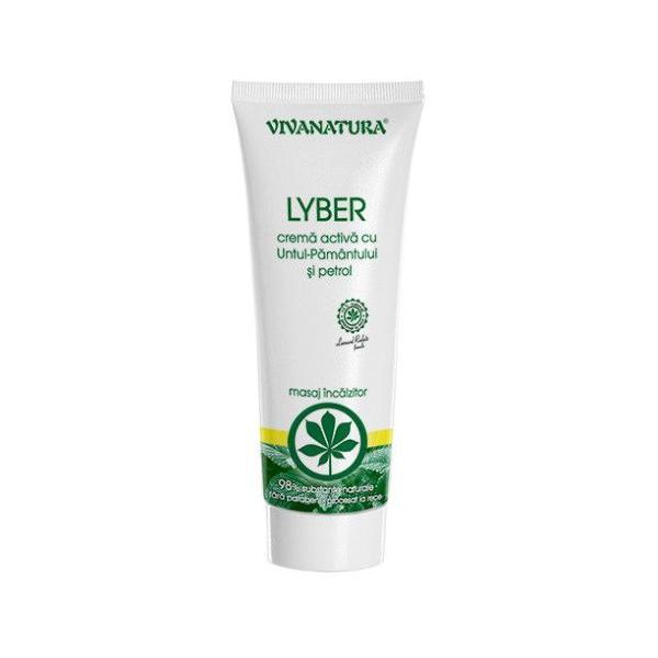 Crema Activa cu Untul Pamantului si Petrol Lyber Vivanatura, 250 ml imagine produs