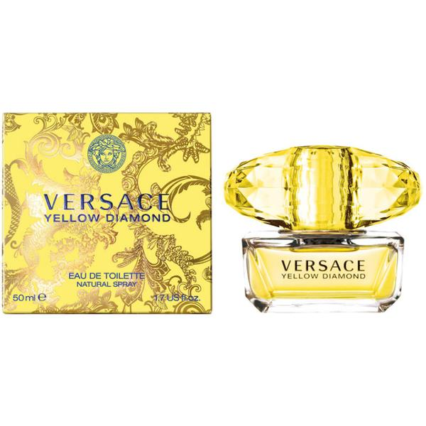 Apa de Toaleta Versace Yellow Diamond, Femei, 50ml poza