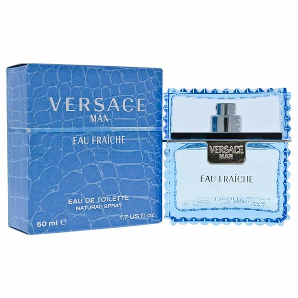 Apa de Toaleta Versace Man Eau Fraiche, Barbati, 50ml imagine produs