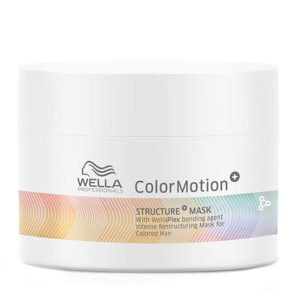 Masca Restructuranta pentru Par Vopsit - Wella Professionals Color Motion+ Structure+ Mask for Colored Hair, 150ml