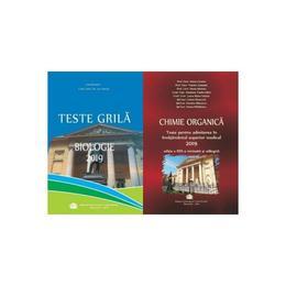 Set admitere UMF Carol Davila-Chimie+Biologie(ed. 2019) editura UMF Carol Davila