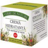 Crema Hidratanta pentru Ten Normal si Mixt Manicos, 50ml