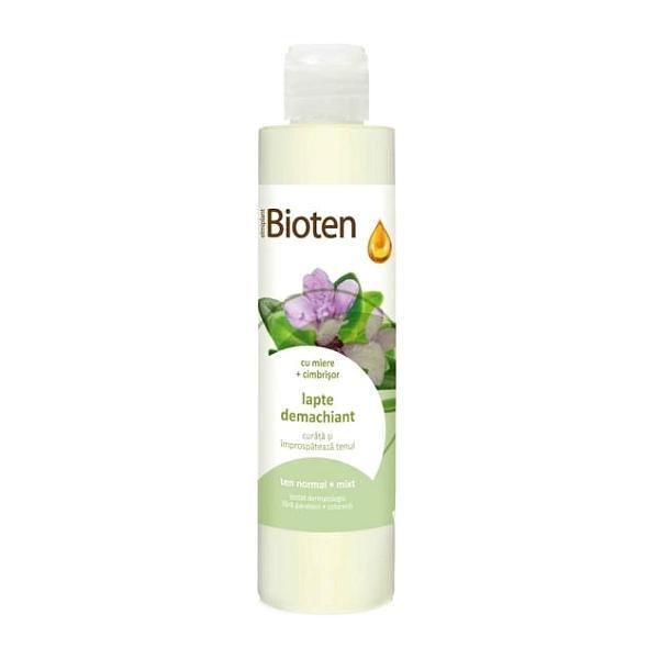 Bioten Lapte Demachiant Ten Normal si Mixt Elmiplant, 200ml imagine produs