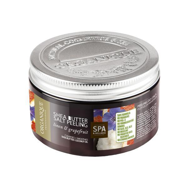 Exfoliant corp cu shea, grepfruit si albastrele, Organique, 450 ml imagine produs