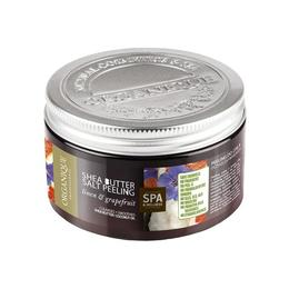 Exfoliant corp cu shea, grepfruit si albastrele, Organique, 450 ml de la esteto.ro