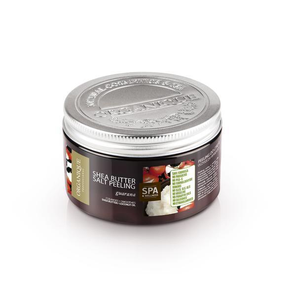 Exfoliant corp cu shea si guarana, Organique, 450 ml imagine produs