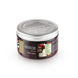 Exfoliant corp cu shea si guarana, Organique, 450 ml de la esteto.ro