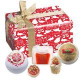 Set cadou Christmas Carol, Bomb Cosmetics, (sapun, sare de baie) 600 g