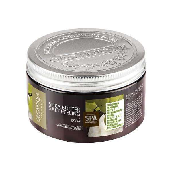 Exfoliant corp, cu shea si greeky, Organique, 450 ml imagine produs