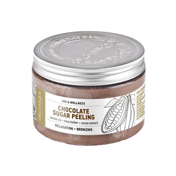 Exfoliant corp, cu ciocolata, Organique, 450 ml imagine produs