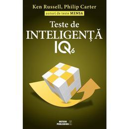Teste de inteligenta IQ 6 - Ken Russell, Philip Carter, editura Meteor Press