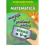 Matematica - Clasa 5 - Exercitii si probleme - Gheorghe Adalbert Schneider, editura Hyperion