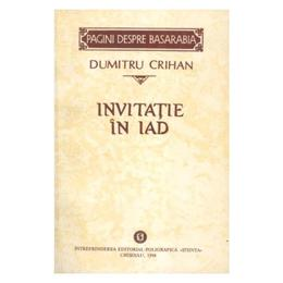 Invitatie in iad - Dumitru Crihan, editura Stiinta