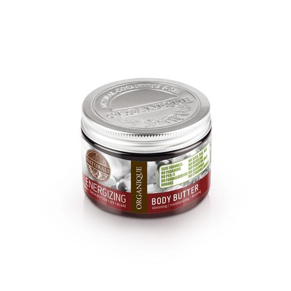Unt de corp energizant, cu guarana, Organique, 150 ml