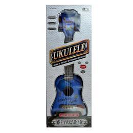 Chitara ukulele albastru - jucarie cu sunete reale - Bontempi