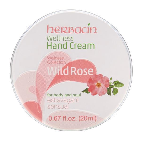 Crema maini cu trandafir salbatic, Herbacin, 20 ml imagine produs