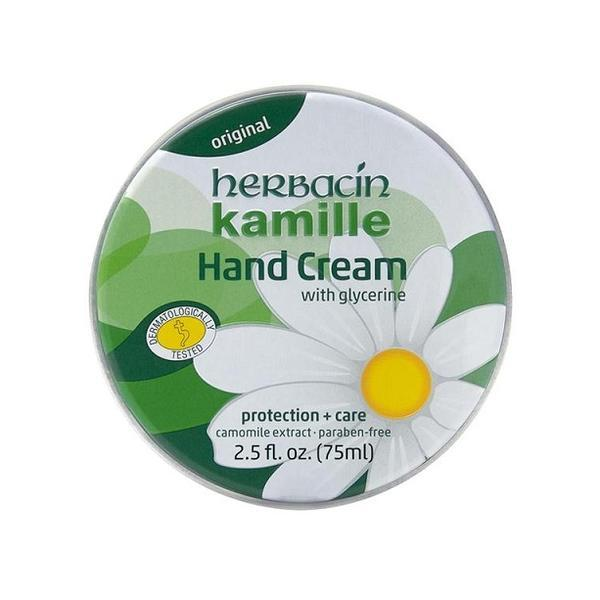Crema maini cu musetel (cutie aluminiu), Herbacin, 75 ml imagine produs