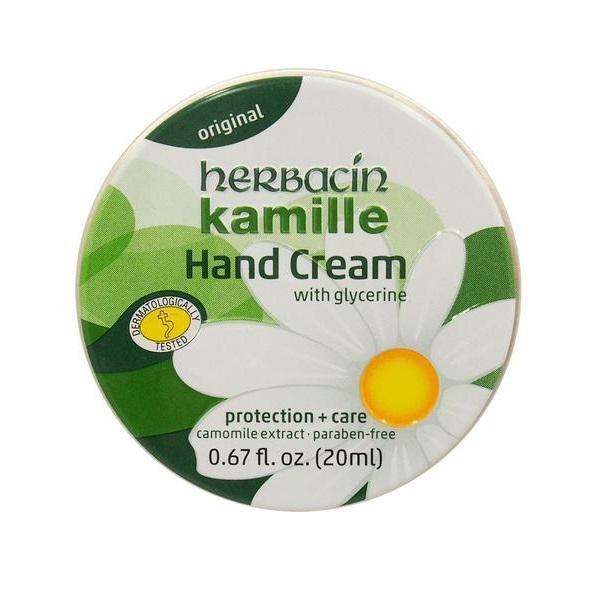 Crema maini cu musetel (cutie aluminiu), Herbacin, 20 ml imagine produs