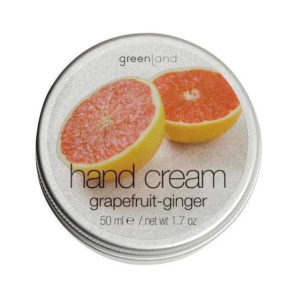 Crema maini, cu ghimbir si grepfruit, Greenland, cutie, 50 ml imagine produs