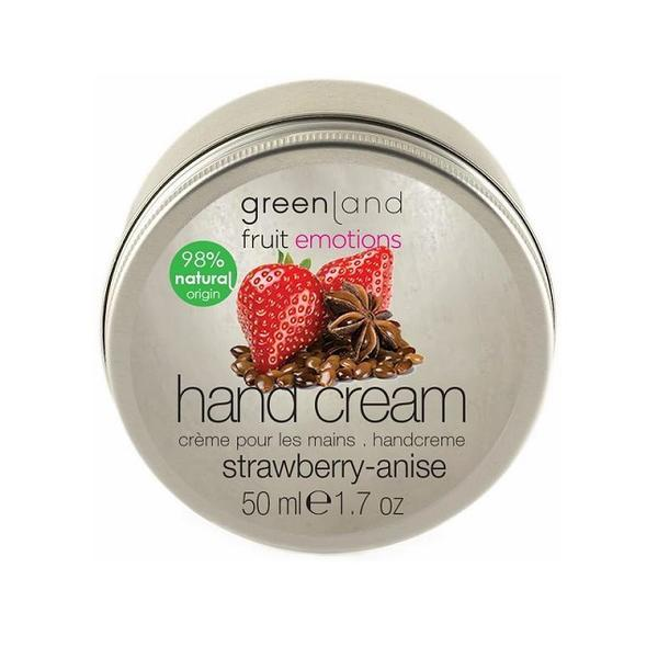 Crema maini, cu capsuni si anason, Greenland, cutie, 50 ml imagine produs