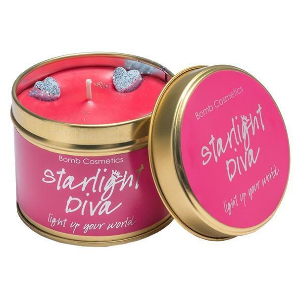 Lumanare parfumata Starlight Diva, 200g - Bomb Cosmetics imagine produs