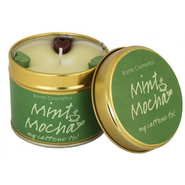 Lumanare parfumata Mint Mocha, 200g - Bomb Cosmetics imagine produs