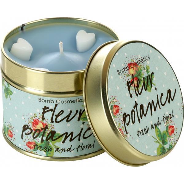 Lumanare parfumata Fleur Botanica, 200g - Bomb Cosmetics imagine produs