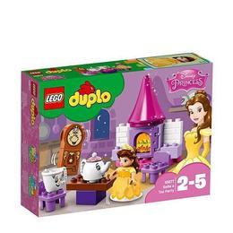 LEGO Duplo - Princess Petrecerea lui Belle 10877 pentru 2-5 ani