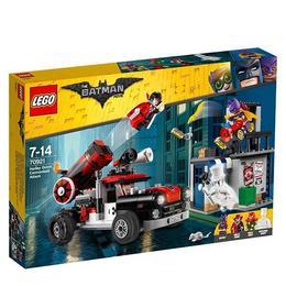 LEGO Batman Movie - Harley Quinn si atacul cu tunul 70921 pentru 7-14 ani