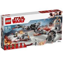 LEGO Star Wars Apararea planetei Crait 75202 pentru 9-14 ani
