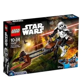 LEGO Star Wars - Scout Trooper si Speeder Bike 75532 pentru 10-14 ani