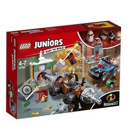 LEGO Juniors - Jaful de la banca cu Subminatorul 10760 pentru 4-7 ani
