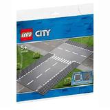 LEGO City - Intersectie dreapta si in T 60236 pentru 5-99 ani
