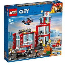 LEGO City - Fire Statie de pompieri 60215 pentru 5+ ani