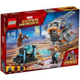 LEGO Super Heroes - In cautarea armei lui Thor 76102 pentru 6-12 ani