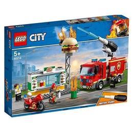 LEGO® City - Fire Stingerea incendiului de la Burger Bar 60214 pentru 5+ ani