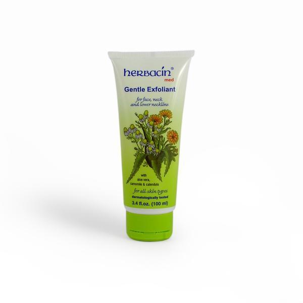 Crema exfolianta delicata (tub), Herbacin, 100 ml imagine produs