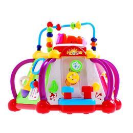 Jucarie interactiva MalPlay, Cub cu activitati ,sunete si lumini pentru copii