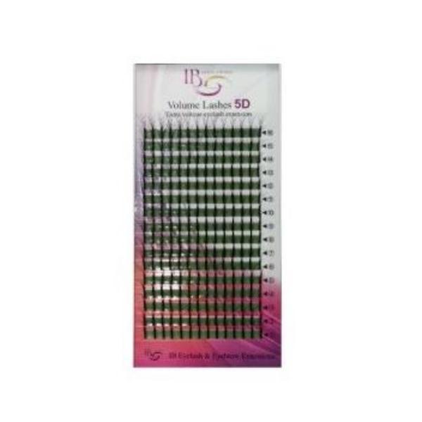 Extensii de gene Ibeauty Mix 5D curbura D 0.10 imagine produs