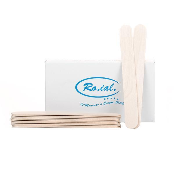Spatulă lemn sterilă 100 buc, Roial imagine produs