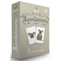 Carti de joc Montessori-Animale Gama