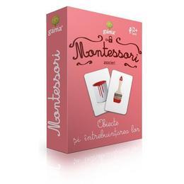 Carti de joc Montessori-Obiecte si intrebuintarea lor