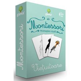 Carti de joc Montessori-Vietuitoare - Gama