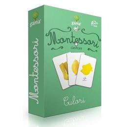 Carti de joc Montessori-Culori, Gama