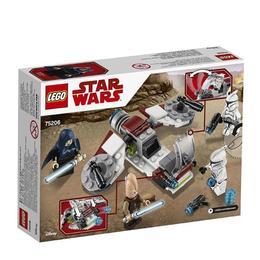 LEGO Star wars - Pachet de lupta Jedi si Clone 75206 pentru 6+