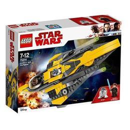 LEGO Star Wars Anakin`s Jedi Star Starfighter 75214 pentru 7-12 ani