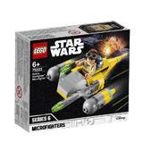LEGO Star Wars - Naboo Starfighter Microfighter 75223 pentru 6+