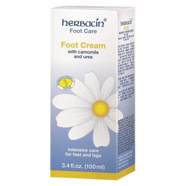 Crema calcaie si picioare, Herbacin, 100 ml imagine produs