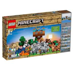 LEGO Minecraft Cutie de crafting 2.0. 21135 pentru 8+