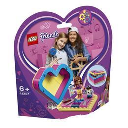 LEGO Friends - Cutia in forma de inima a Oliviei 41357 pentru 6+